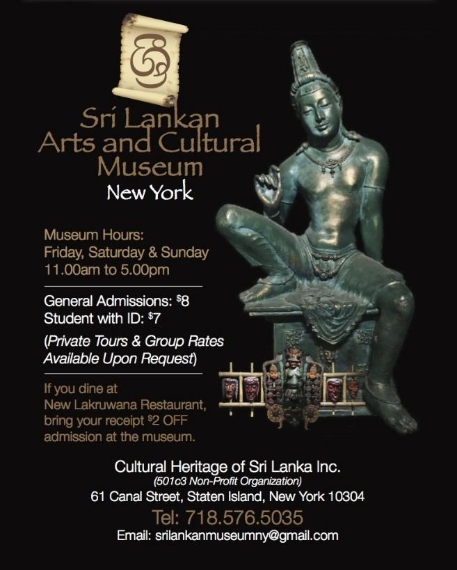 Sri Lankan Arts & Cultural Museum NY - Founder - Julia Wijesinghe