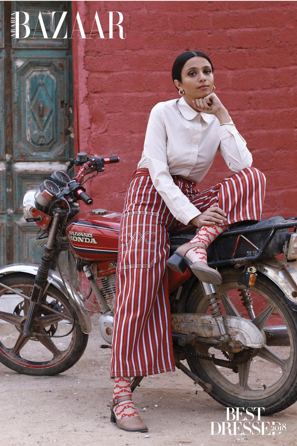 Nadia Gohar X Harper's Bazaar Arabia