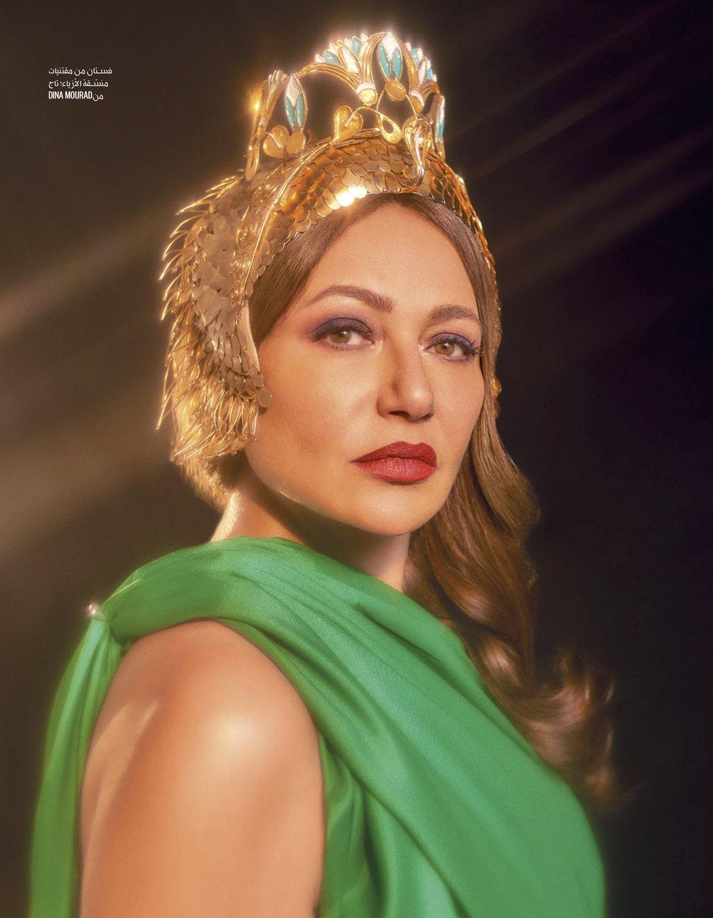 Laila Eloui X Vogue Arabia