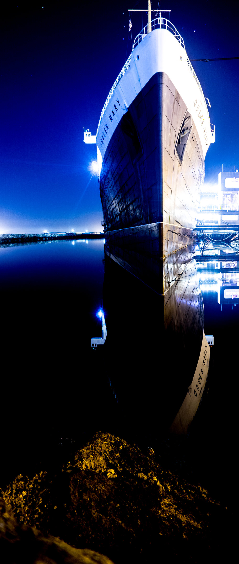 queen mary night sky and reflections.jpg