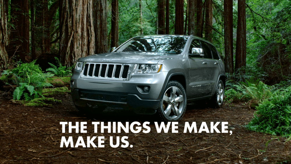 Jeep — The Things We Make, Make Us