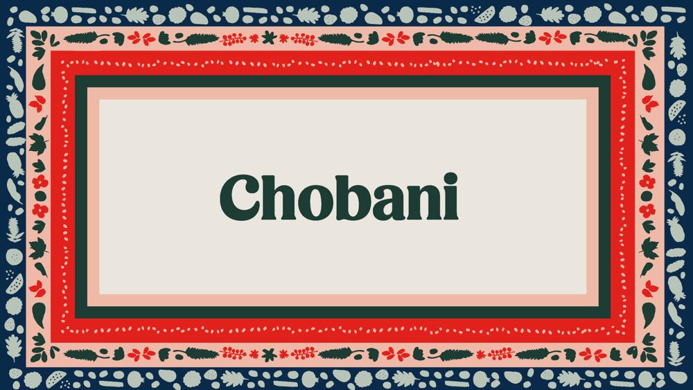 Chobani — Chobani.com