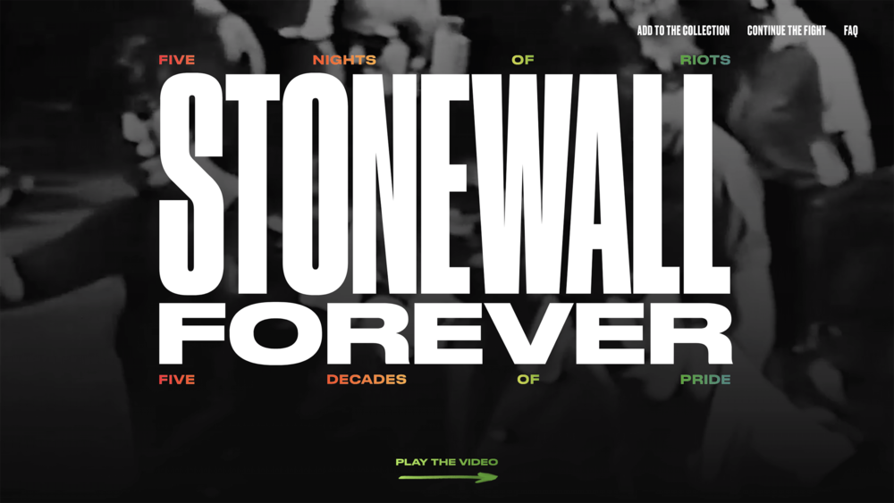 The LGBT Center — Stonewall Forever