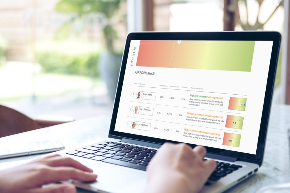 Platform Analytics on Laptop