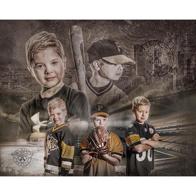 That one time you couldn't decide which edit you liked better, so you gave the family two! Thank you for the introduction to Leo, @cuddlesforkids! #morethan4 #morethanfour #somanyangels #mariolemieuxfoundation #sidneycrosby #jamesontaillon #jamesconner #underarmour #pittsburghpenguinsfoundation #profoto #leo #capturedpgh #cancer #kidswithcancer