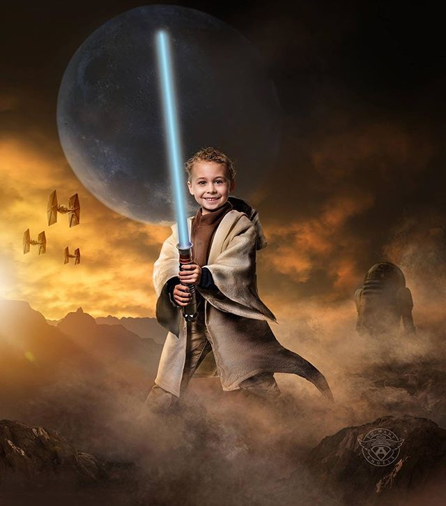 Owen is ready for battle! #pediatriccancer #morethan4 #morethanfour #profoto #capturedpgh #cancer #kidswithcancer #millerslab #sma #jedi #starwars #jeditraining #pittsburgh #pitt #lightsabers  #somanyangels