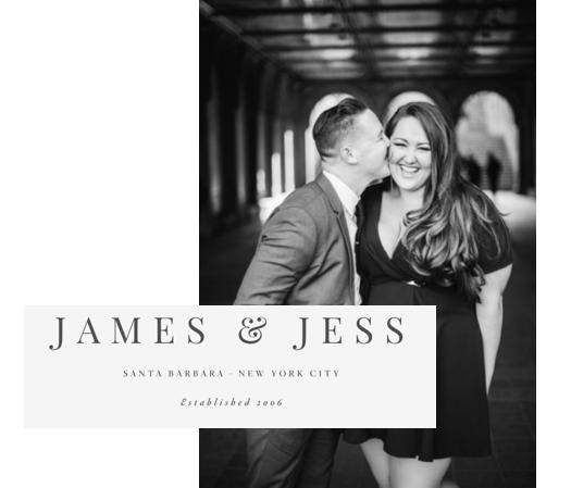 Photo Cred: www.jamesandjess.com @jessfairchild & @jameswitty