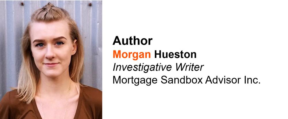 Morgan Hueston Author