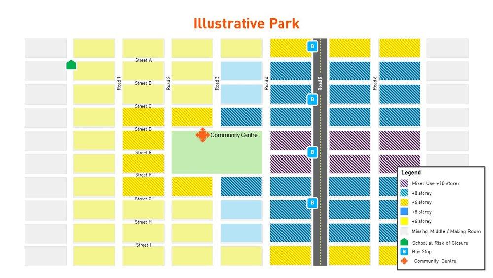 Family District Illustrative Park