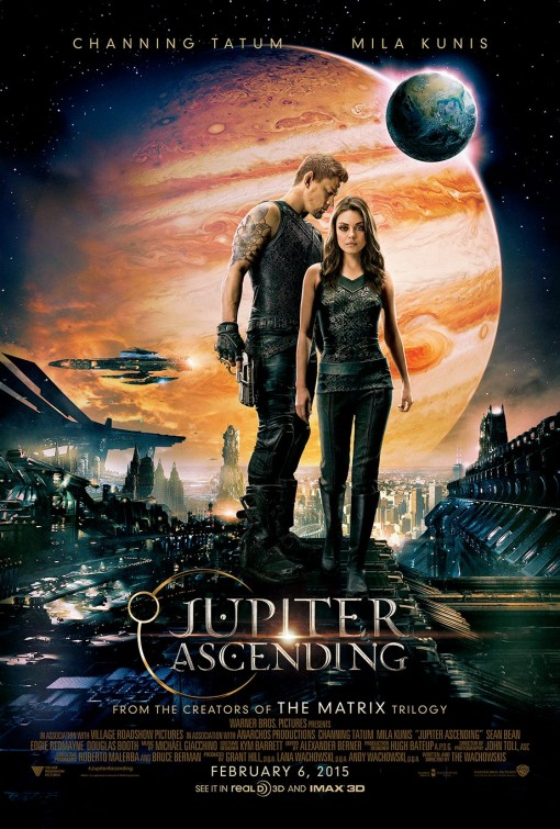 "Jo's orchestral piece "" Centaurus "" from his forthcoming album "" Valkyrie "", published by Position Music is featured in Warner Brothers' ""Jupiter Ascending"" Extended Trailer."