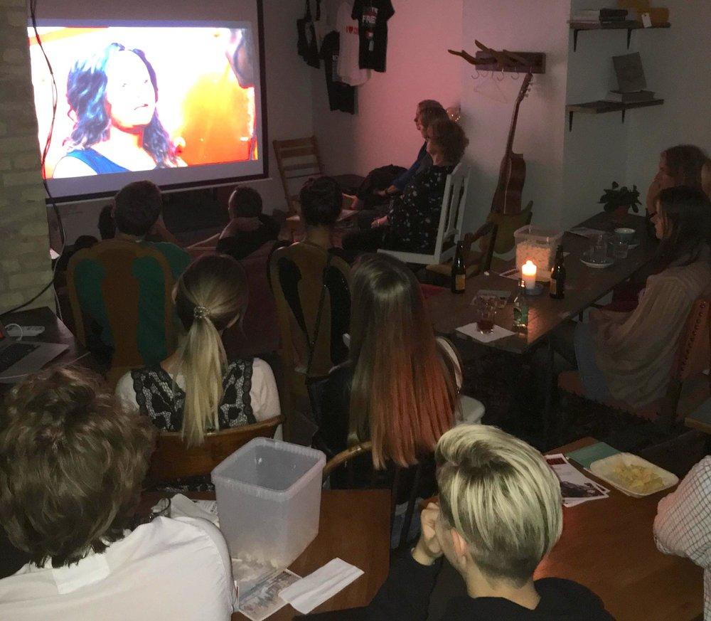 At Café Mellemfolk in Aarhus