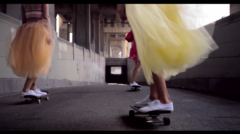 "Christian Siriano ""Spring Skate"""