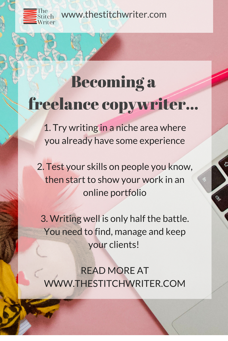 10 things I've learned as a freelance copywriter