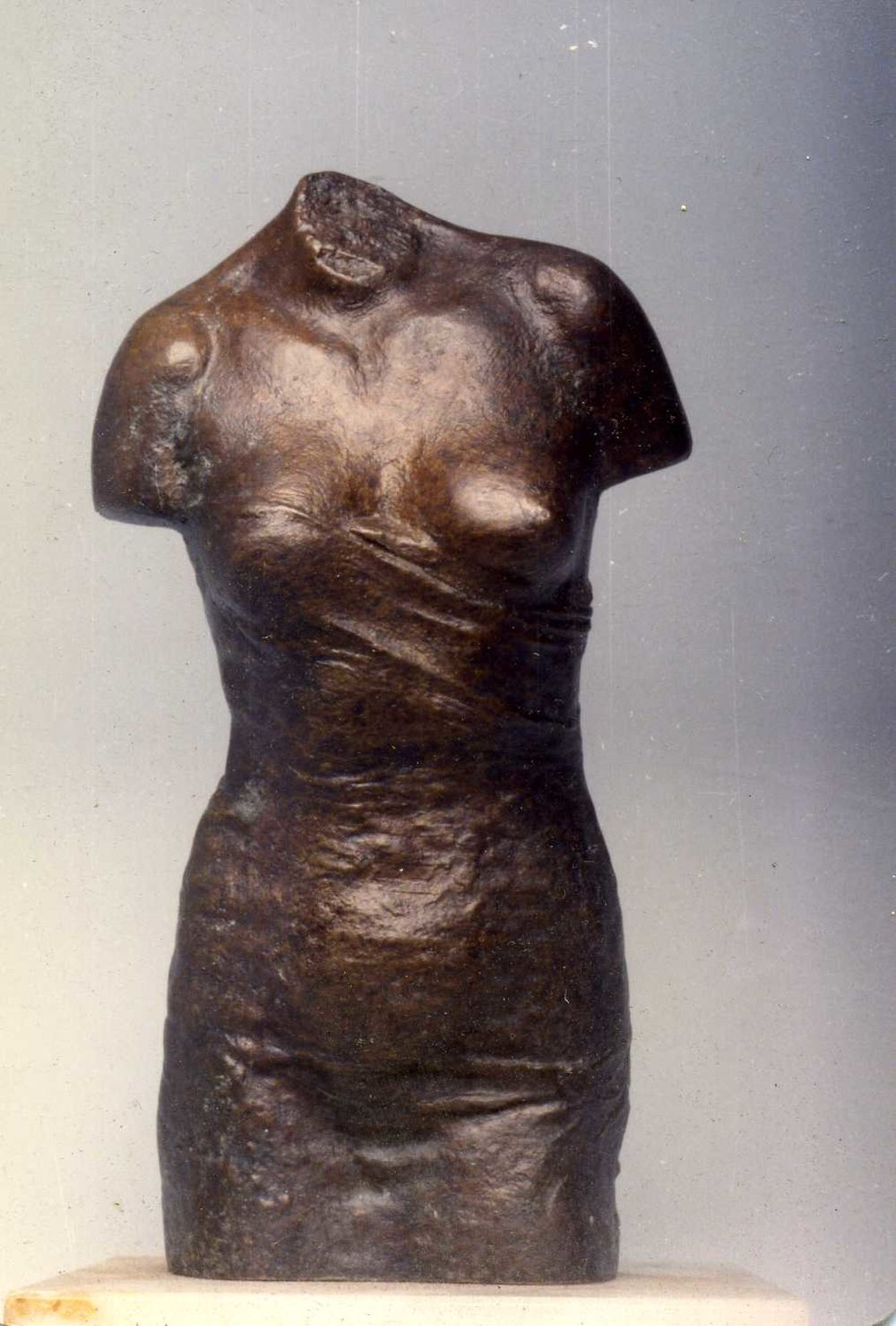 Small Draped Female Torso