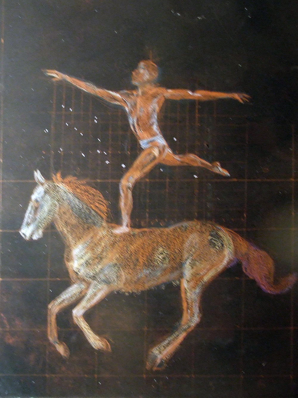 Male Arabesque on a Horse