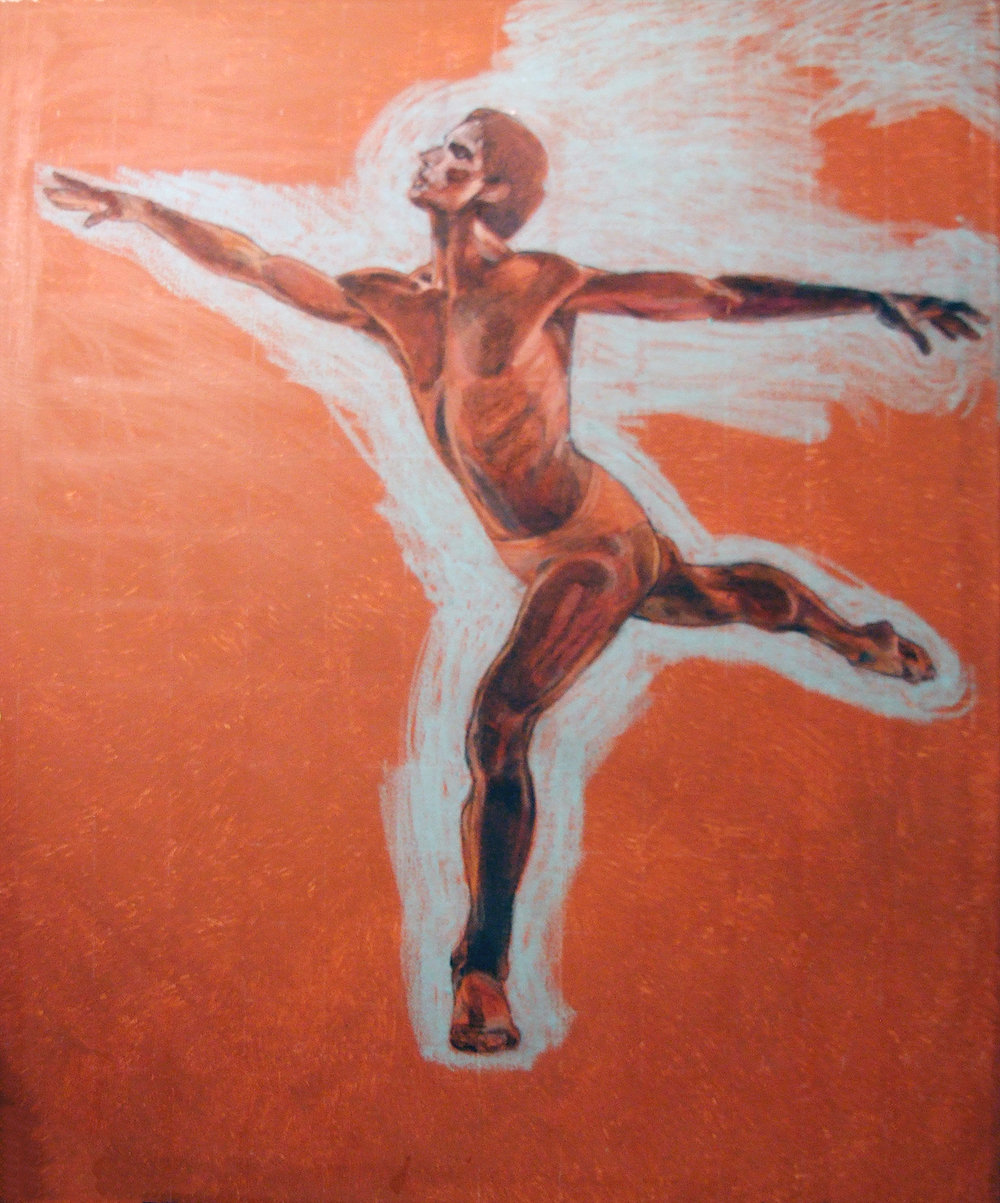 Nijinsky in Arabesque