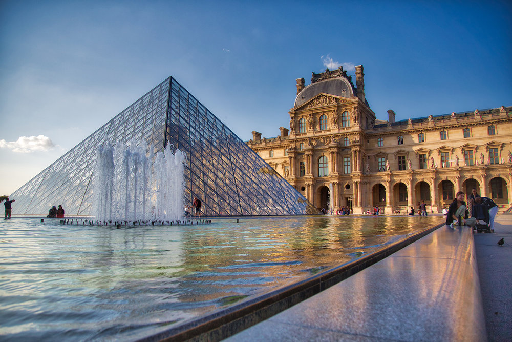 The Louvre before Sunset