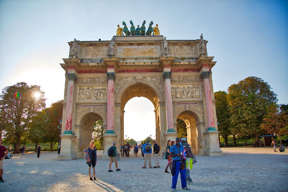 L'Arc de Triomphe du Carousel
