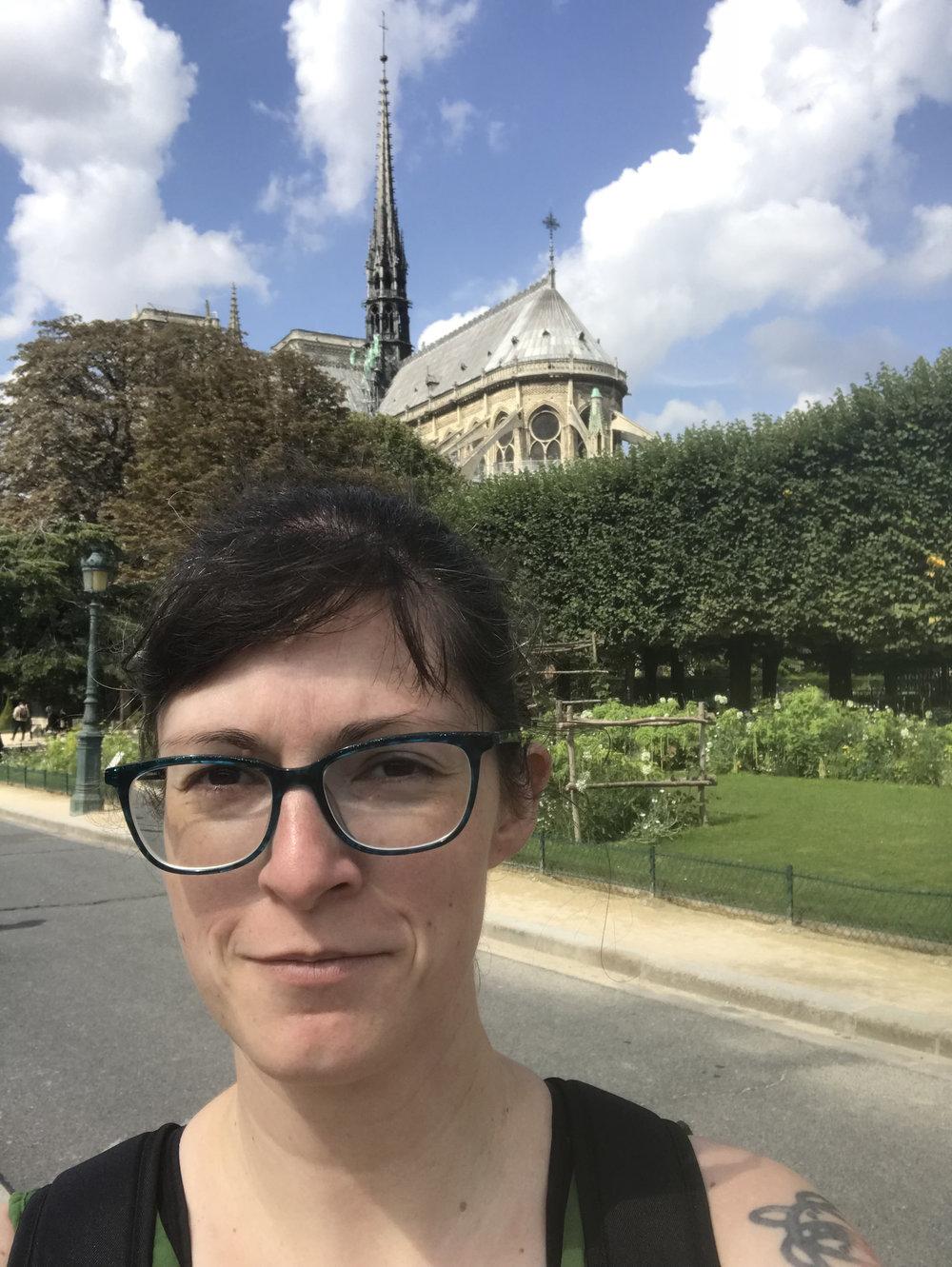 Notre Dame Selfie
