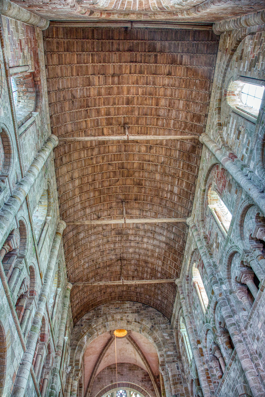 Chapel Roof interior