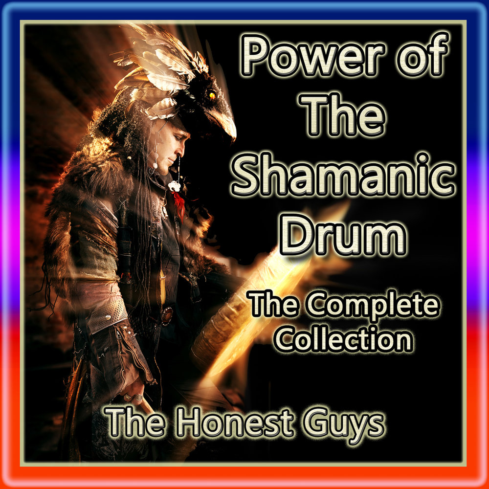 power of the shamanic drum (3-track album) with border3.jpg