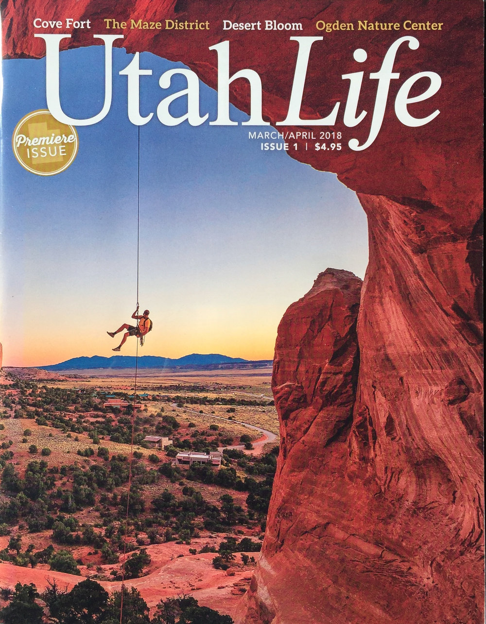 UTAH LIFE MAGAZINE | ISSUE 1  MODEL | ERIC ODENTHAL  PHOTOGRAPHER |  WHIT RICHARDSON   AREA | UTAH DESERT