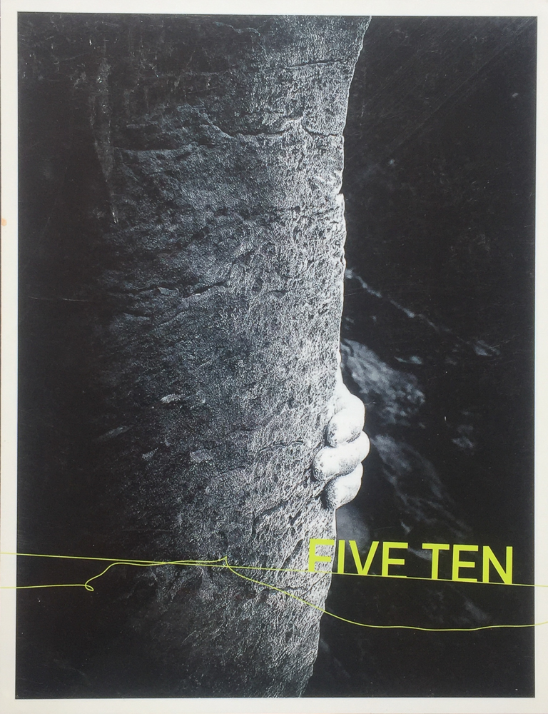 FIVE TEN CATALOG  COVER PHOTO: ERIC ODENTHAL  MOAB | UTAH