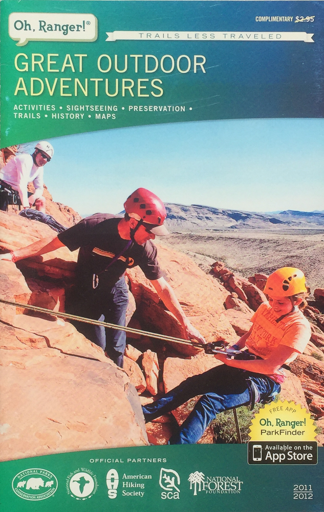 OH, RANGER! MAGAZINE  COVER IMAGE: ERIC ODENTHAL  LAS VEGAS | NEVADA