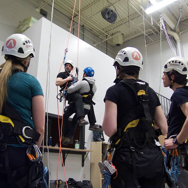 Are you a rope access tech and haven't been on ropes in a while? We are offering a 2-day refresher training in Burlington, Ontario this Wednesday May 30th and Thursday May 31st. Send us a DM or email for more info, training@geoarc.org