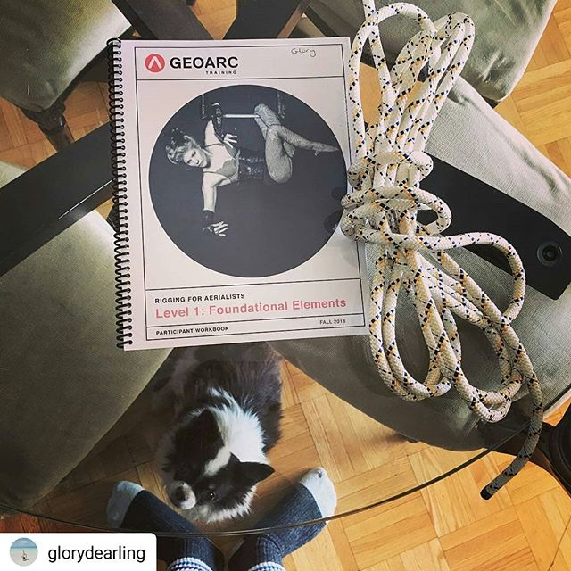 #Repost @glorydearling • • • • • Just completed the Rigging for Aerialists course by @_geoarc this weekend. Thank you @mmscrimger and @hillnew for the great instruction and information. And to Flying Arts Collective for hosting this training. It's so important to #flysafe and I'm so glad this resource was created. #alwayslearning #stillinschool 🎪 . . . . . #riggingforaerialists #safetyfirst #aerialistsofinstagram #circus #practicesafecircus #aerialnation #circusaroundtheworld #aerialbeauty #circusisforeveryone #circusinternational #circusparty #aerialarts #circuswerk #aerialdance #circus #torontocircus