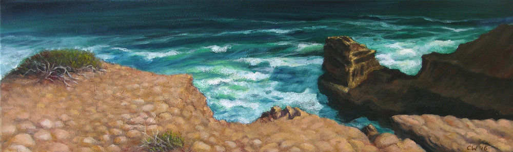 Cliff Edge _ Whitewater 1 23 x 76cm.jpg