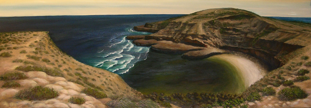 Ancient Coast Elliston SA.  152 x 52cm.jpg