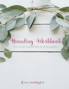 Branding Workbook by Wonderland Media