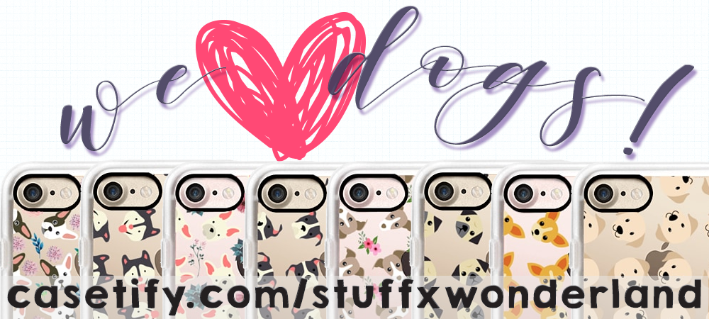 STUFFxWonderland Dog Phone Case Collection for Casetify on Wonderland Media Blog