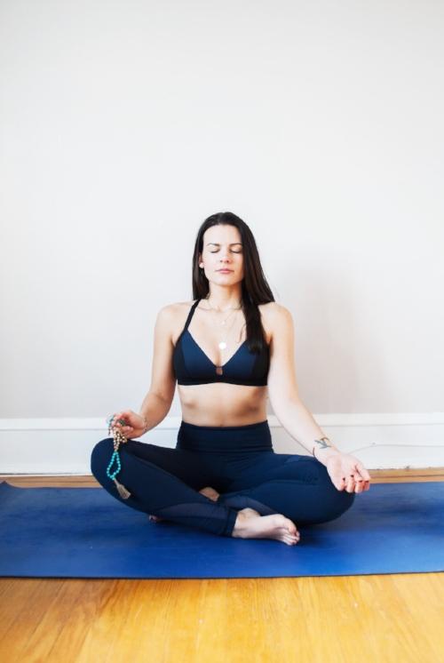 kate van horn home yoga studio