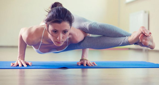 (Yoga - Eight-Angle Pose Astavakrasanal by Yoga Online)