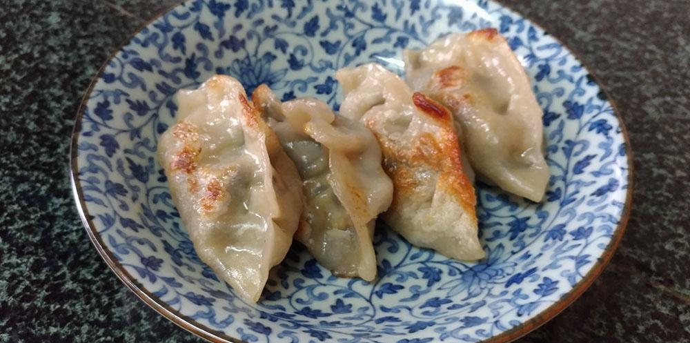 純素港式蕎菜木耳餃子 -