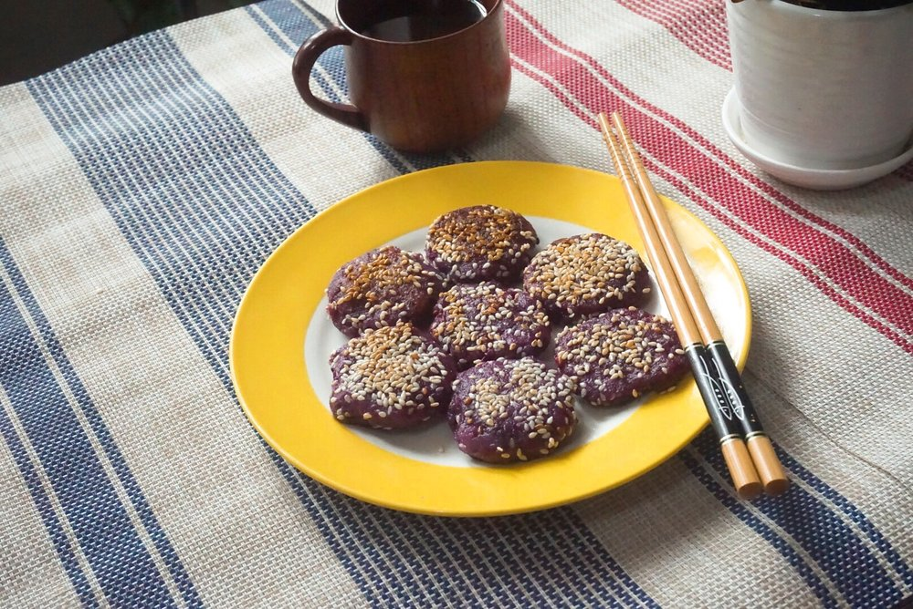 Vegan Purple Yam Mochi Recipe.JPG