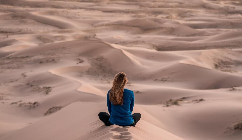 meditation+alone