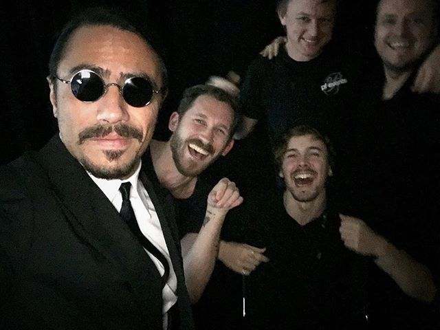 Behind the scenes with @nusr_et and crew in Berlin. What a legend! #saltbae #setlife #berlin #place2be @xaviermonney @placetob @kingdomanimaliafilm