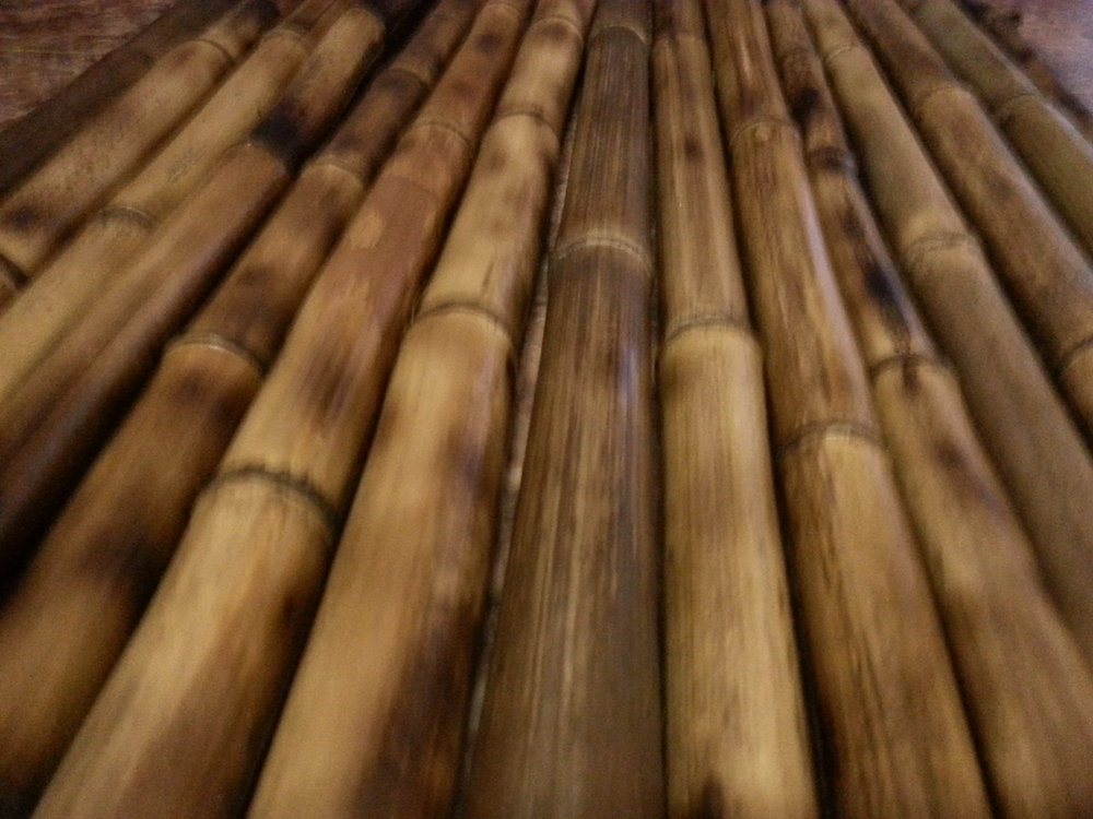 bamboo heat treated by hand in America