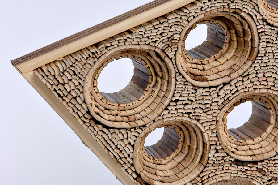 Example of bamboo fine art sculpture by Charissa Brock