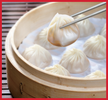 Din Tai Fung | Global | Check Yelp    ★★★★★  We go to one in NorCal & there's another in SoCal. Honestly, we're not a huge franchise fan, but this is an exception. They're so delicious and consistent - regardless of which country we go to!  Get: pork xiao long bao & green beans with garlic