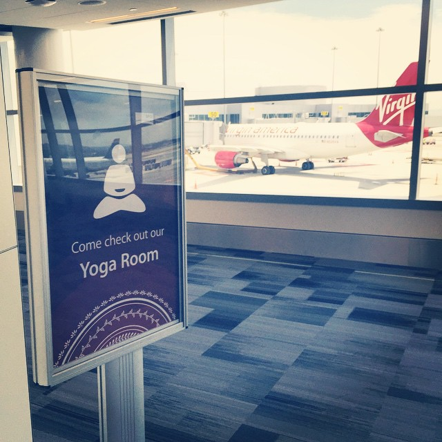 There's cozy room to rest in at Terminal 3 of Heathrow airport. :) - Valentin Dombrovsky, Travelabs