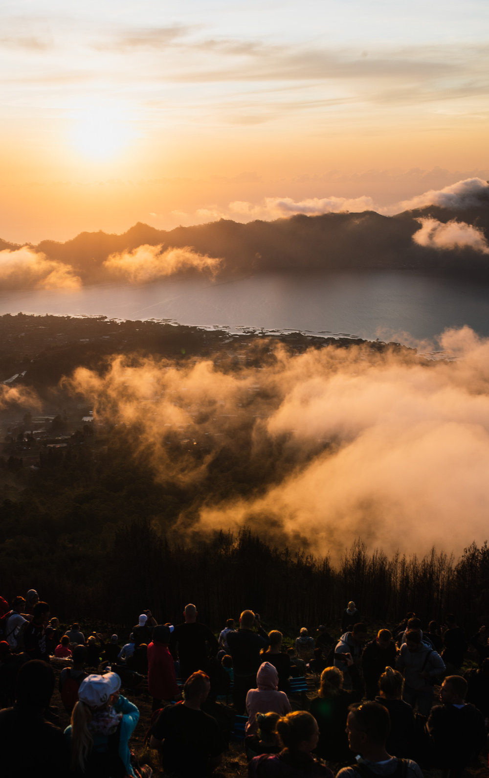 There were over 400 people who climbed this mountain to catch the sunrise.  Photo Credit: Joe Na (www.joenagraphy.com)