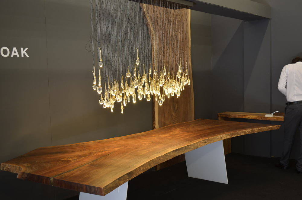 Claro walnut table at Superbrand London LDF