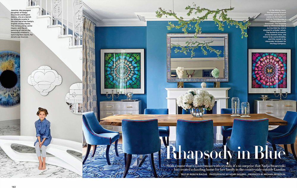 Architectural Digest feature Walnut Table Whetstone Oak
