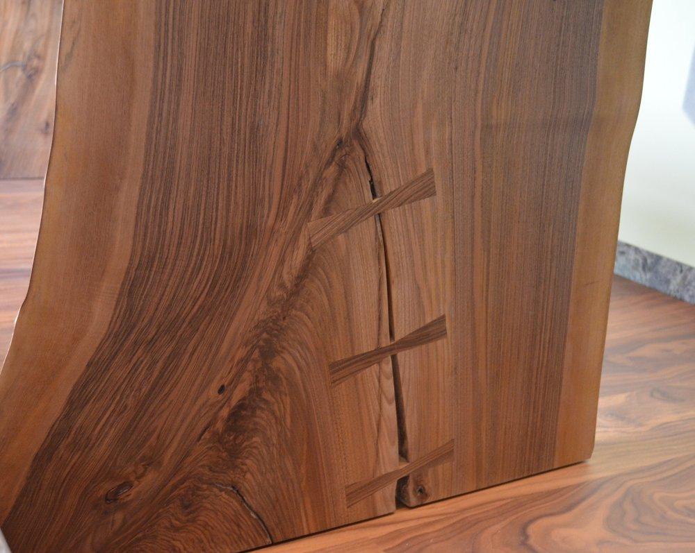 Euopean walnut butterfly keys