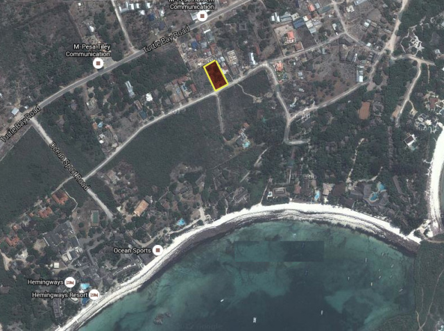 A 3RD OF AN ACRE, 2ND ROW BEHIND OCEAN SPORTS FOR SALE - Ksh 20 million (Kenyan Shillings)Ref: WHE03More Info