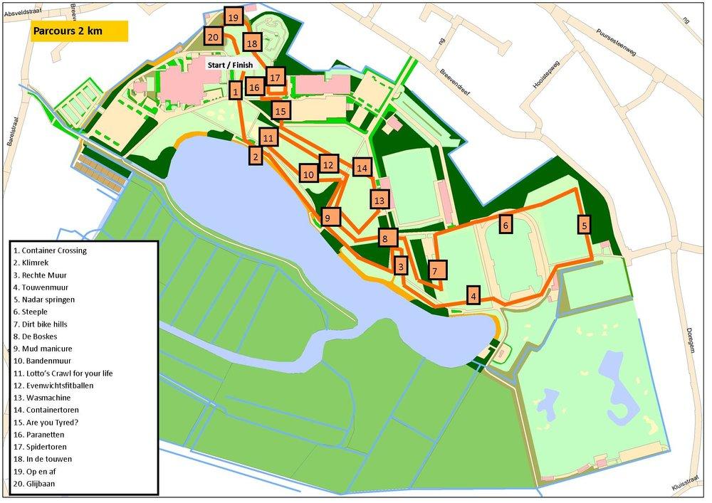 Parcours met aanduiding hindernissen2km2019.jpg